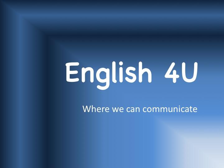 English 4U