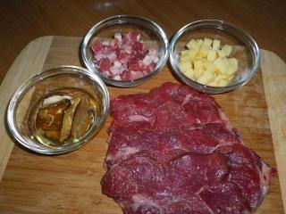 Involtini funghi pancetta ed emmental dal dolce al salato - Funghi secchi a bagno ...