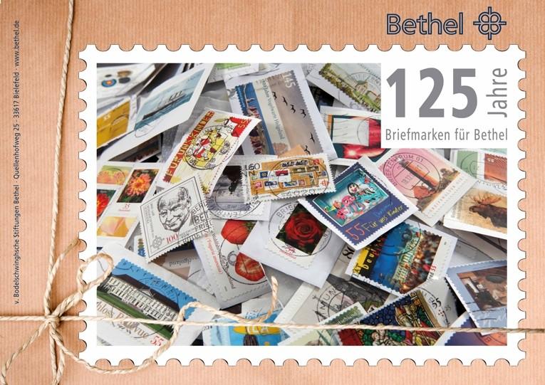 Briefmarken Für Briefe : Jahre briefmarken für bethel