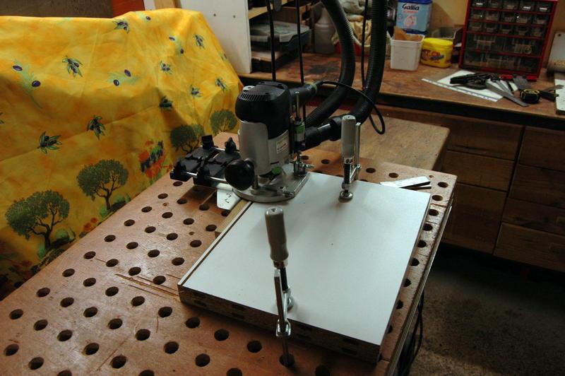 Accessoires caissons un gabarit syst me ls 32 - Canon de percage ...