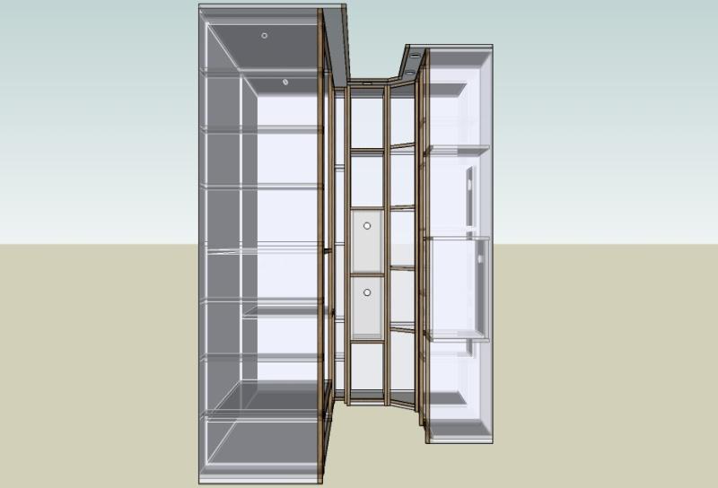 r alisation un petit dressing conomique page 2. Black Bedroom Furniture Sets. Home Design Ideas