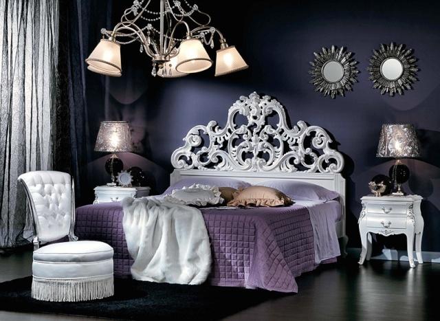 Comment opt pour un style f ministe glamour et chic - Camere da letto stile barocco ...