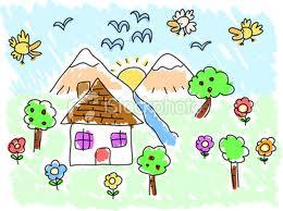 Le dessin d'un enfant dans MOMENT DE VIE dessin10
