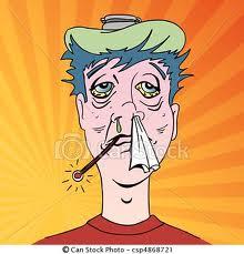 La grippe dans MOMENT DE VIE rhume10