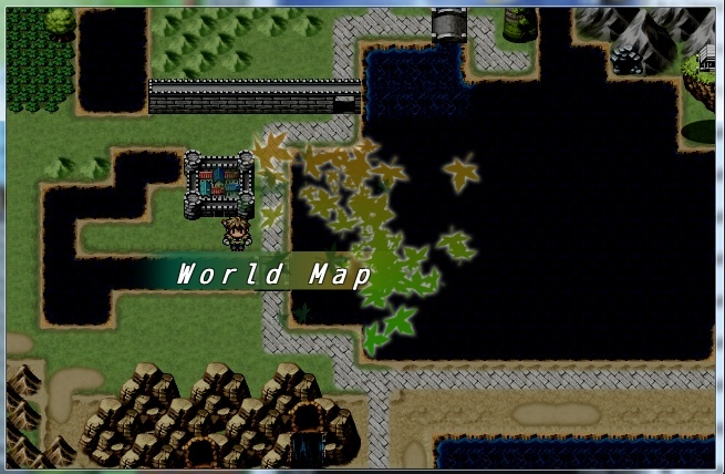 Super screenshots critique and discussion rpg maker vx ace general i tweaked the world map some to give it a more adventurous feel to it there is now a wall between the town and the castle for protective reasons gumiabroncs Choice Image
