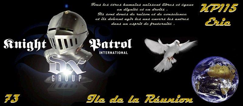 Groupe knight patrol int indicatif kp115 for Indicatif 86