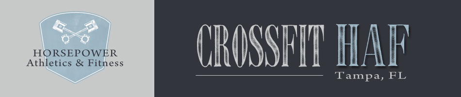 CrossFit HAF Paleo Challenge