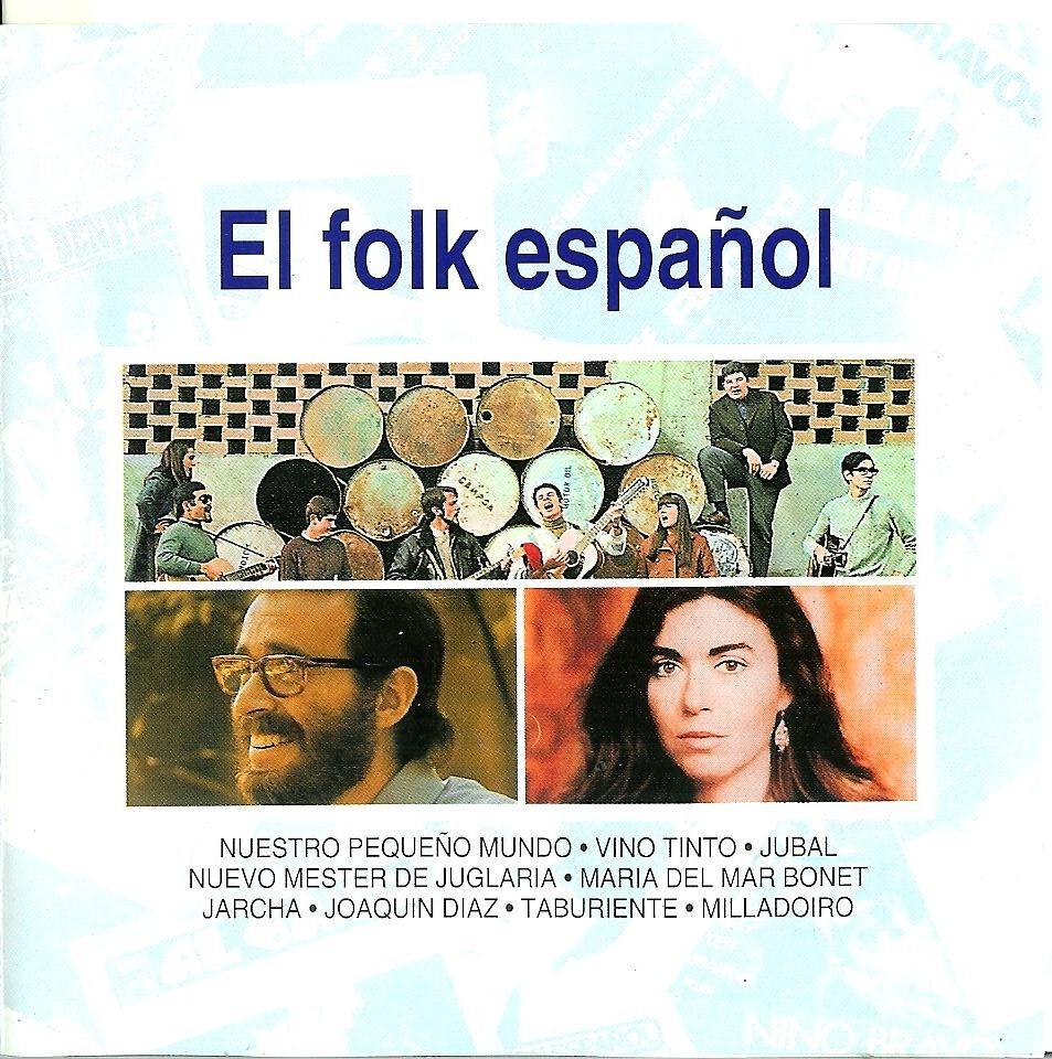 el fol10 - El folk español, V.A. - (SELLO Planeta-Agostini ) CD 1993