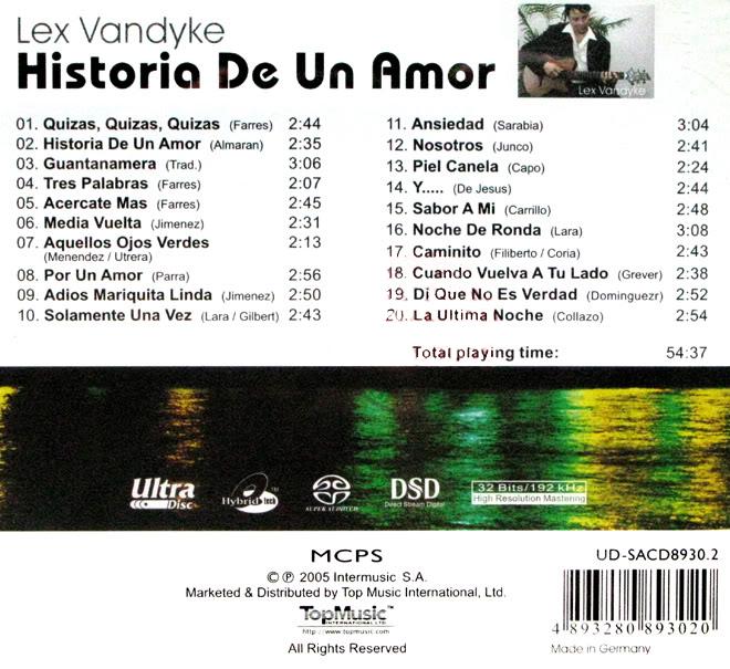 lex va10 - Lex Vandyke - Historia De Un Amor (2005)